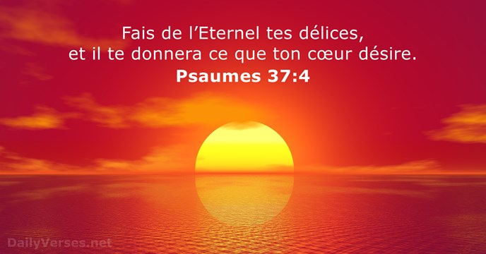 Psaumes 37:4