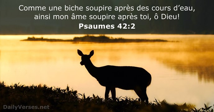 Psaume 42:2