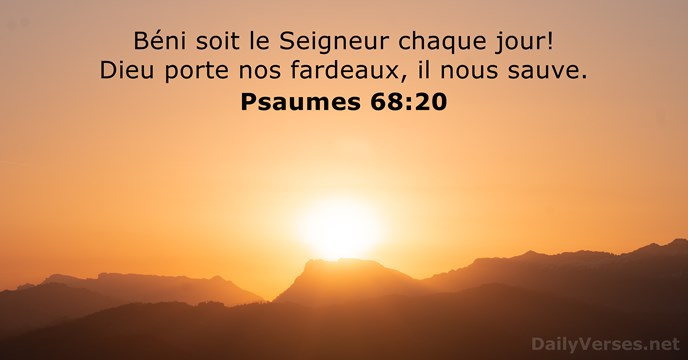 Psaumes 68:20