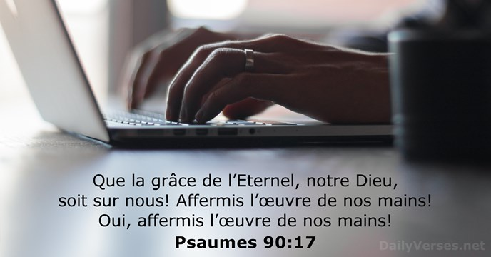 Psaumes 90:17