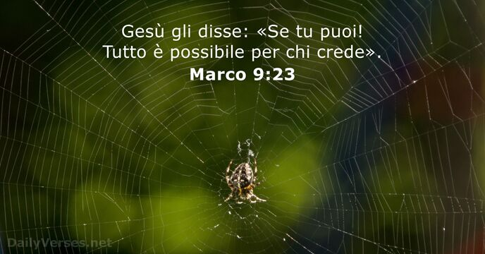 Marco 9:23