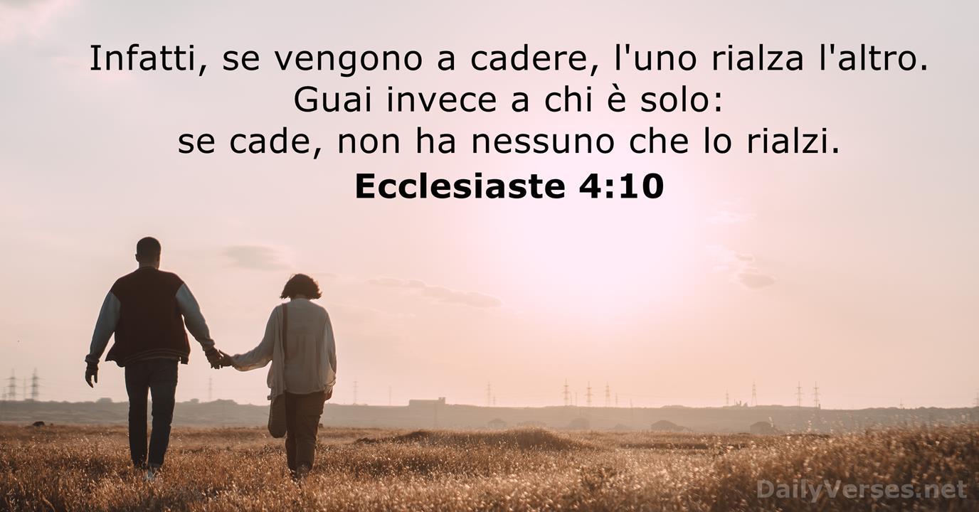 5 maggio 2021 - Versetto della Bibbia del Giorno - Ecclesiaste 4:10 -  DailyVerses.net