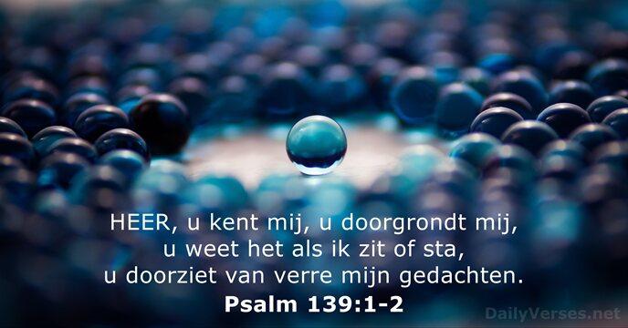 psalm 139 bijbel in gewone taal