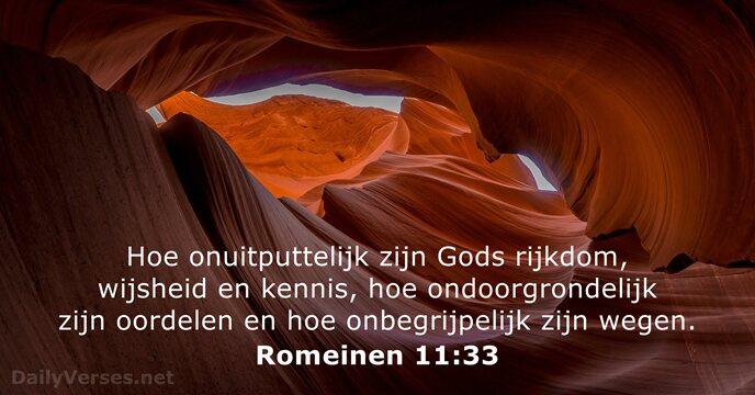 romeinen 11:33