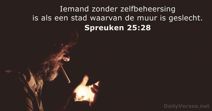 Spreuken Voor Op De Muur.6 Maart 2019 Bijbeltekst Van De Dag Spreuken 25 28 Dailyverses Net
