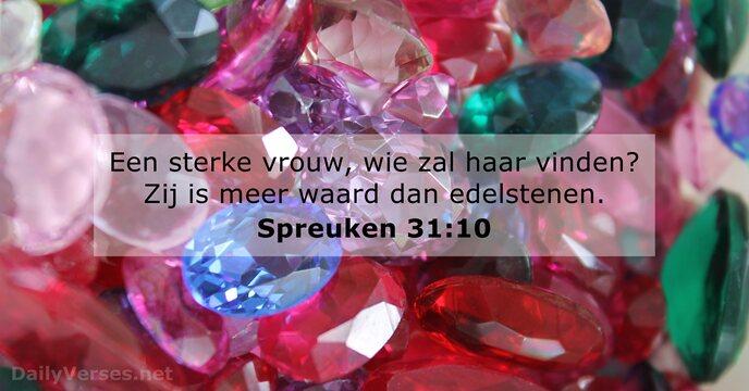 spreuken 31 10 4 september 2018   Bijbeltekst van de dag   Spreuken 31:10  spreuken 31 10