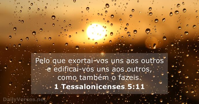 1 Tessalonicenses 5:11