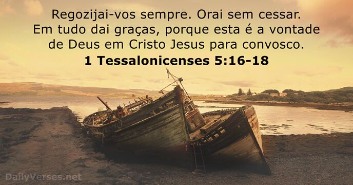 1 Tessalonicenses 5:16-18
