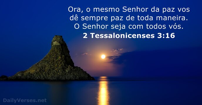 2 Tessalonicenses 3:16