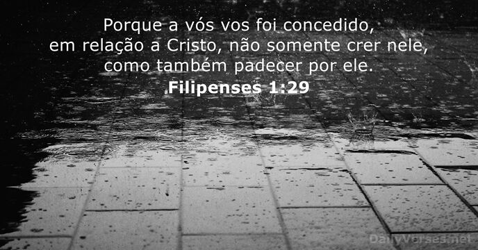 filipenses 1:29