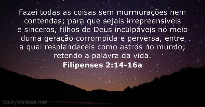 Filipenses 2:14-16a