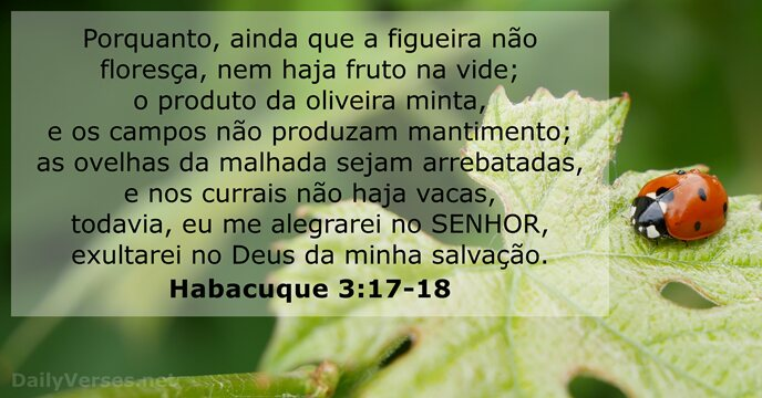 Habacuque 3:17-18