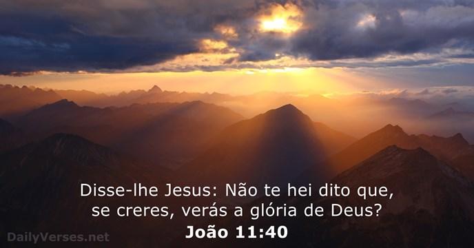 joao 11:40