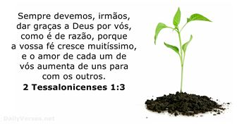2 Tessalonicenses 1:3