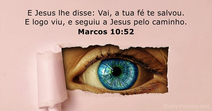 marcos 10:52