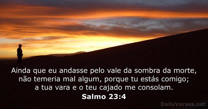 Salmo 23: 4 Por do Sol