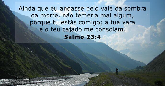 Salmo 23: 4 Montanhas