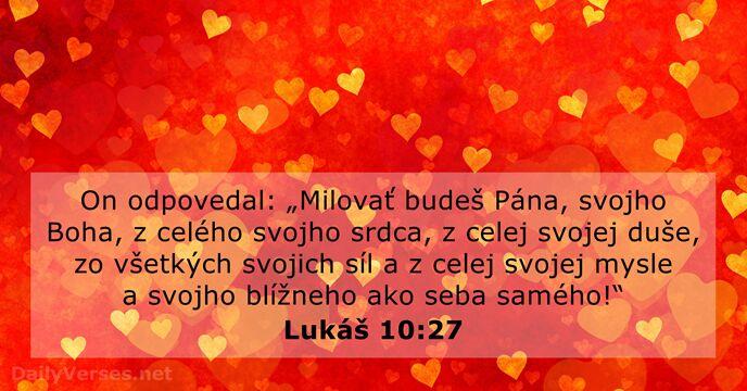 Lukas 10 27