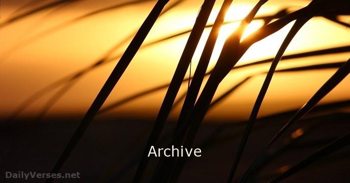Archive - DailyVerses.net - photo#33